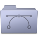 Vector Folder Lavender icon