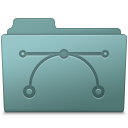 Vector Folder Willow icon