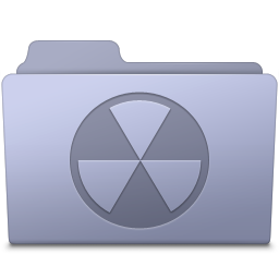 Burnable Folder Lavender icon