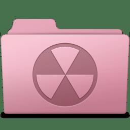Burnable Folder Sakura icon