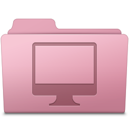 Computer Folder Sakura icon
