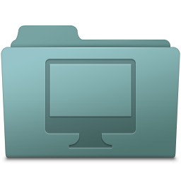 Computer Folder Willow icon