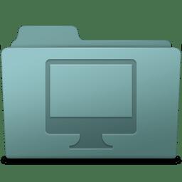 Computer Folder Willow icon