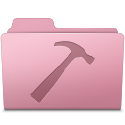 Developer Folder Sakura icon