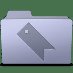 Favorites Folder Lavender icon