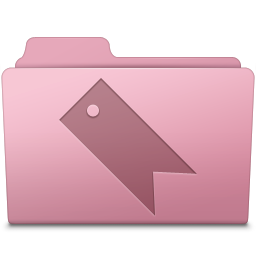 Favorites Folder Sakura icon