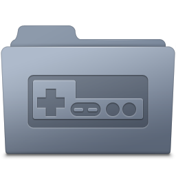 Game Folder Graphite icon