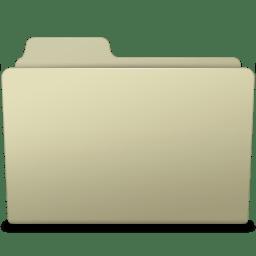 Generic Folder Ash icon
