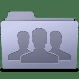 Group Folder Lavender icon