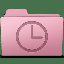 History Folder Sakura icon