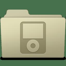 IPod Folder Ash icon