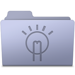 Idea Folder Lavender icon