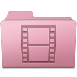 Movie Folder Sakura icon