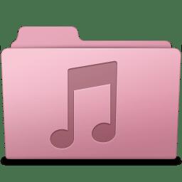 Music Folder Sakura icon