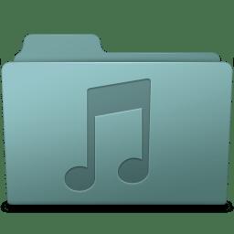 Music Folder Willow icon