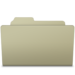 Open Folder Ash icon