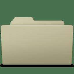 Open Folder Ash icon