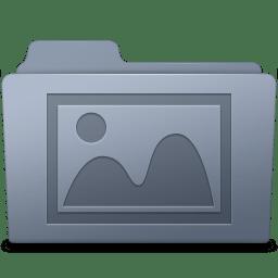 Photo Folder Graphite icon