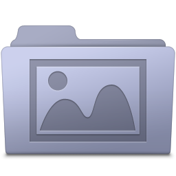 Photo Folder Lavender icon