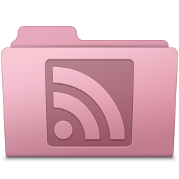 RSS Folder Sakura icon