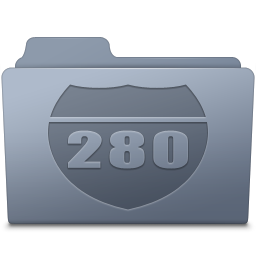 Route Folder Graphite icon