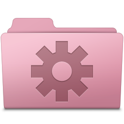 Setting Folder Sakura icon