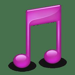 Sidebar Music Purple icon