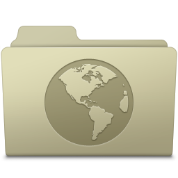 Sites Folder Ash icon