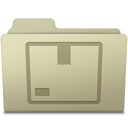 Stock Folder Ash icon