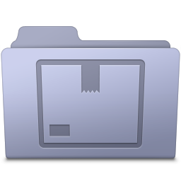 Stock Folder Lavender icon