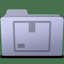 Stock Folder Lavender icon