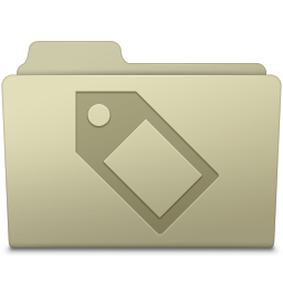 Tag Folder Ash icon