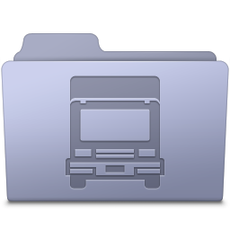 Transmit Folder Lavender icon