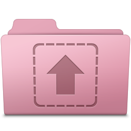 Upload Folder Sakura icon