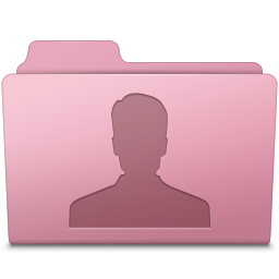 Users Folder Sakura icon