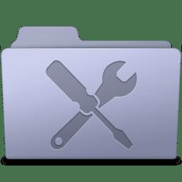 Utilities Folder Lavender icon