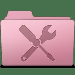 Utilities Folder Sakura icon