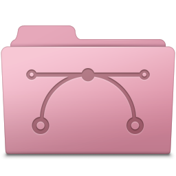 Vector Folder Sakura icon