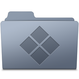 Windows Folder Graphite icon