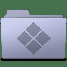 Windows Folder Lavender icon
