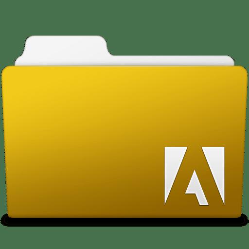 Adobe Fireworks Folder Icon | Smooth Leopard Iconset ...