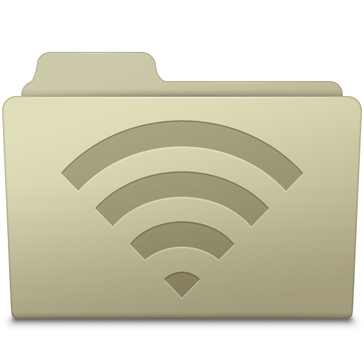 AirPort-Folder-Ash icon