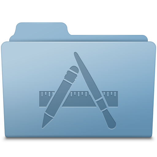 Applications-Folder-Blue icon