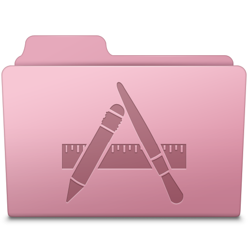 Applications Folder Sakura icon