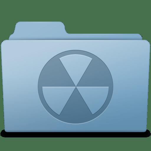 Burnable-Folder-Blue icon