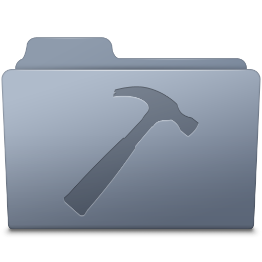 Developer-Folder-Graphite icon