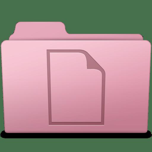 Documents Folder Sakura icon