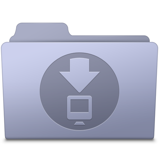 Downloads-Folder-Lavender icon