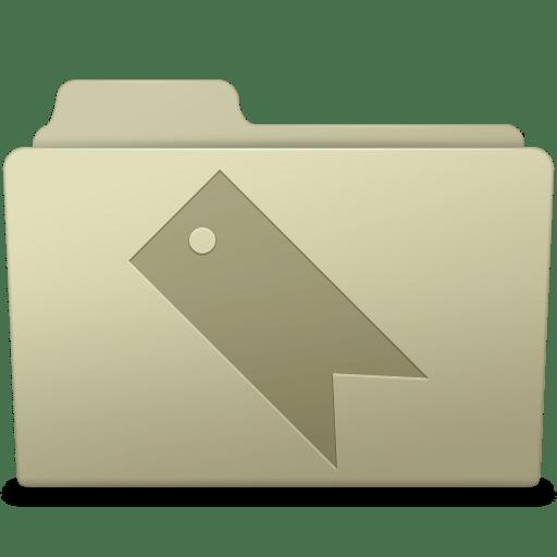 Favorites Folder Ash icon