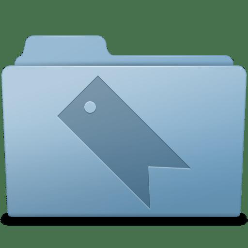 Favorites-Folder-Blue icon
